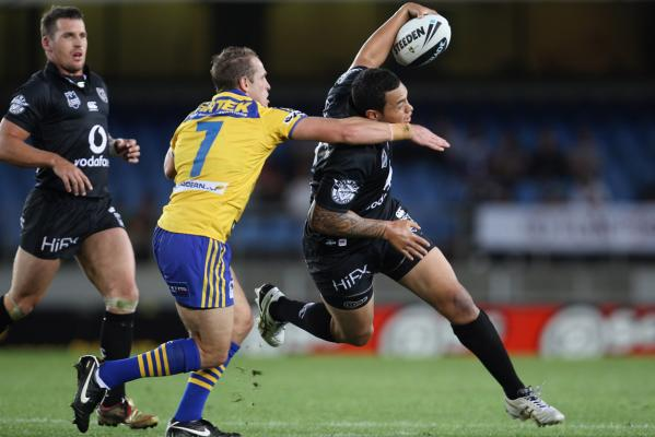 Warriors vs Eels