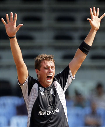 TIM SOUTHEE: Expects tough match against Zimbabwe.