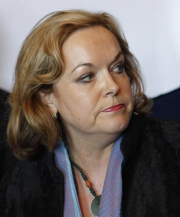 Police Minister Judith Collins