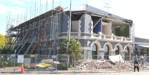 The historic Carlton Hotel is set to be demolished after becoming unstable.