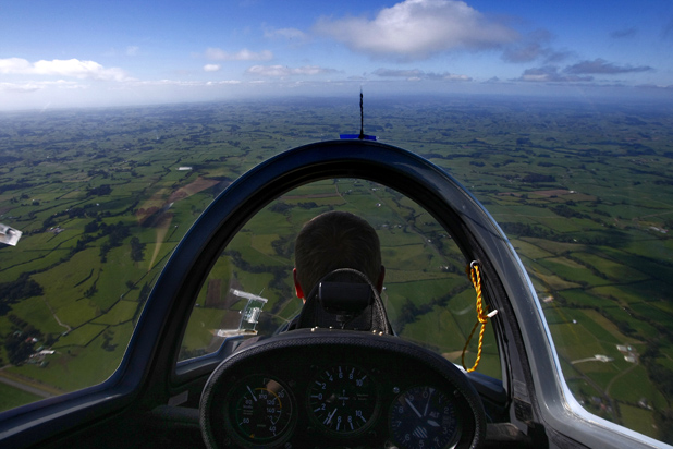 Taranaki from Above