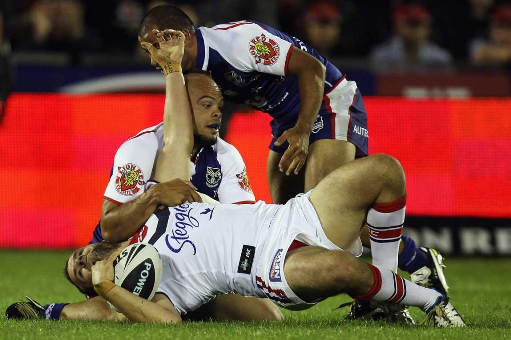 Roosters v Warriors