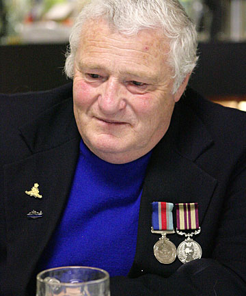GEOFF BATEMAN: Told The Southland Times on Anzac Day that he volunteered for Vietnam in 1968.