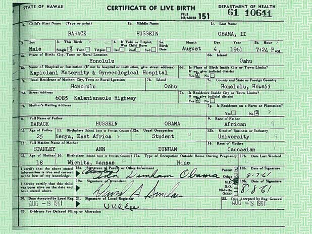 Barack obama produces birth certificate stuff documentation obamas full birth certificate released by the white house yelopaper Image collections