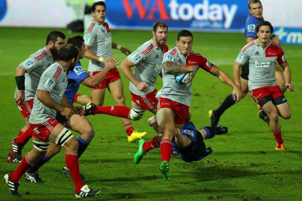 Crusaders v Western Force