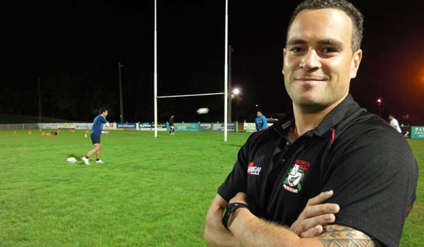 CLUB AND COUNTRY: Daniel Morath of West Harbour could go from club rugby to playing the All Blacks at the Rugby World Cup.