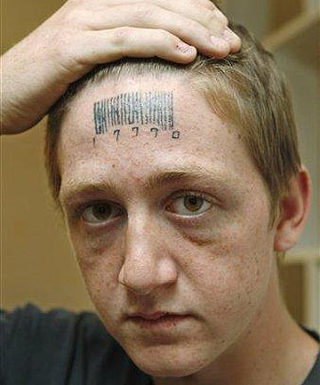 Forehead Tattoo