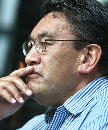 MAKING HEADLINES: Hone Harawira's comments have reached Pakistan.