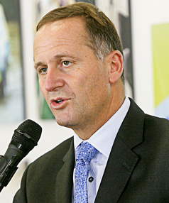 COUNTING THE COST: Prime Minister John Key says the deficit is worrying but understandable after the Christchurch quake.
