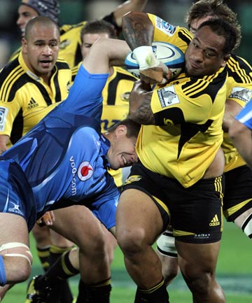MOVE IT: All Blacks and Hurricanes prop Neemia Tialata has agreed to a move to France after the World Cup.