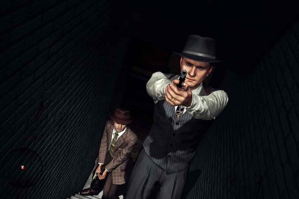 TRIPLE THREAT: Rockstar's LA Noire features some utterly brilliant motion capture, voice acting, and music.