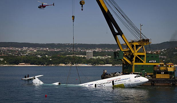The jetliner of former Bulgarian dictator Todor Zhivkov is submerged and turned into an underwater tourist attraction off the country's Black Sea coast in Varna.