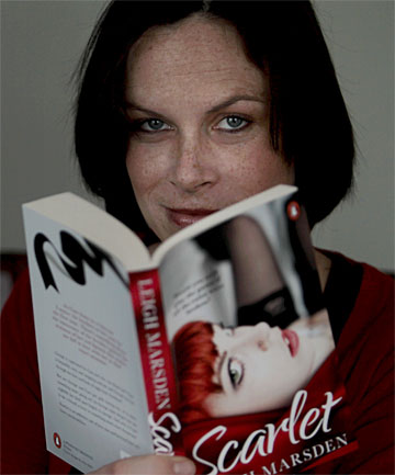 HOT TOPIC: Geraldine author Leigh Marsden has released her latest novel, which publisher Penguin says is a sizzler.