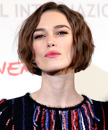 PUT THOSE LIPS AWAY: Keira Knightley was told by a director to stop pouting.