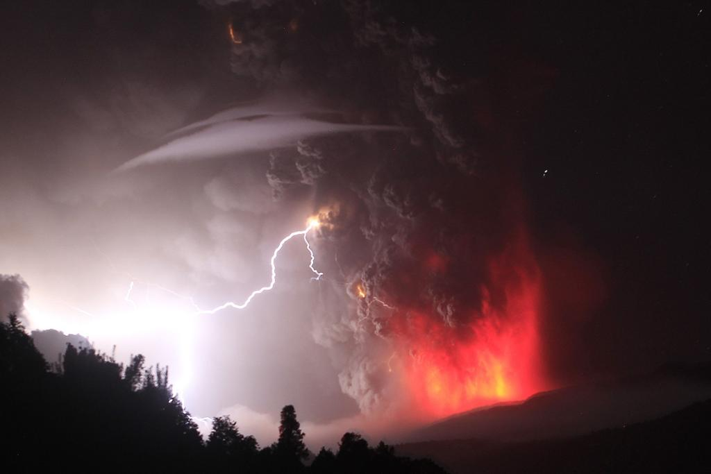 A volcano in the Puyehue-Cordon Caulle chain, dormant for decades, erupted in southern Chile, belching ash over 10 kilometres into the sky.