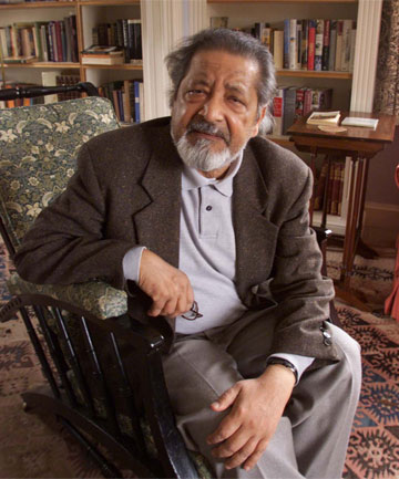 """CONTROVERSIAL: VS Naipaul says a woman's """"narrow view of the world"""" affects her writing."""