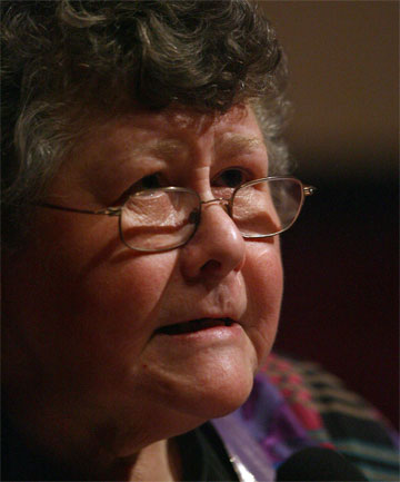INDIGNANT: New Zealand author Keri Hulme says many women writers will out-survive VS Naipaul.