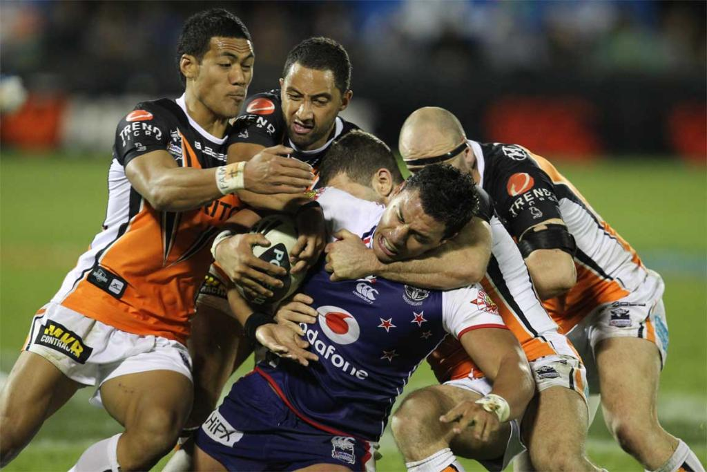 Warriors v Tigers