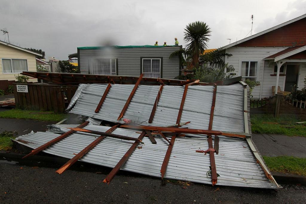 Lemon Street New Plymouth After A Tornado Hit On June 19 2011