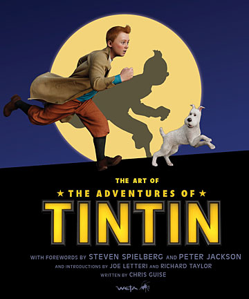 The Art of The Adventures of Tintin will be released in the United States, United Kingdom, Australia and New Zealand on October 13