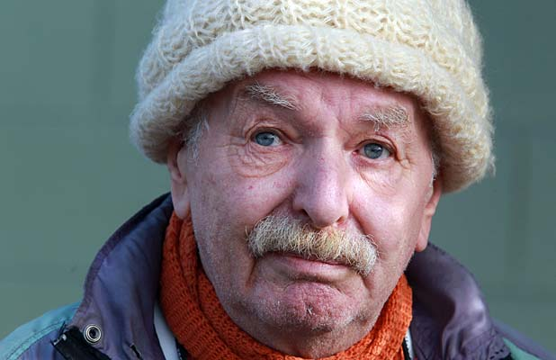 Nicholas Abaffy, 72, has been told his uninsured home must be abandoned.