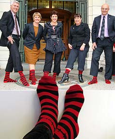MPs reveal their aftersocks