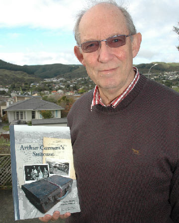 TOME OF KNOWLEDGE: Tawa Historical Society chairman Bruce Murray is confident the newly-released book Arthur Carman's Suitcase will become a resource for local people to find out more about their suburb.