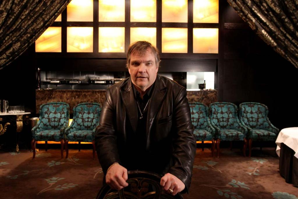 MEAT AND GREET: Legendary singer and actor Meat Loaf speaks to Fairfax Media at the Langham Hotel in Auckland while on a promotional tour for his latest album last year.