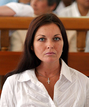 JAILED: Schapelle Corby on tirla in Denpasar in 2005.
