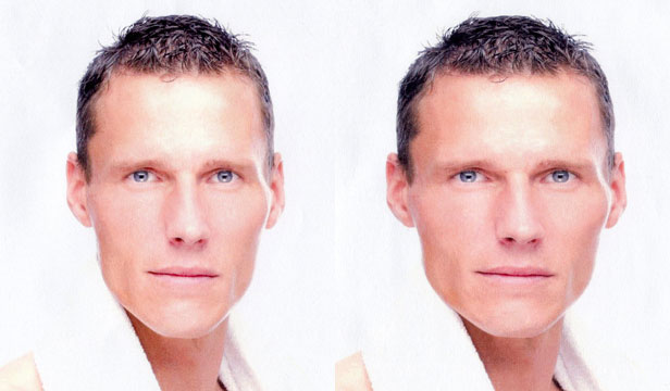 According to a new study, the wider a man's face is relative to its height, the more likely that person is to cheat and deceive.