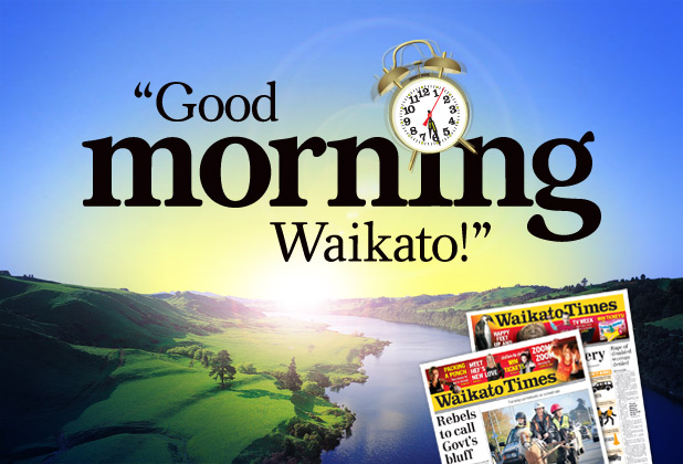 Good Morning Waikato!