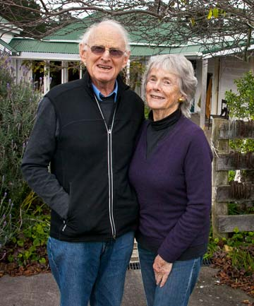 Kim and Jeanette Goldwater