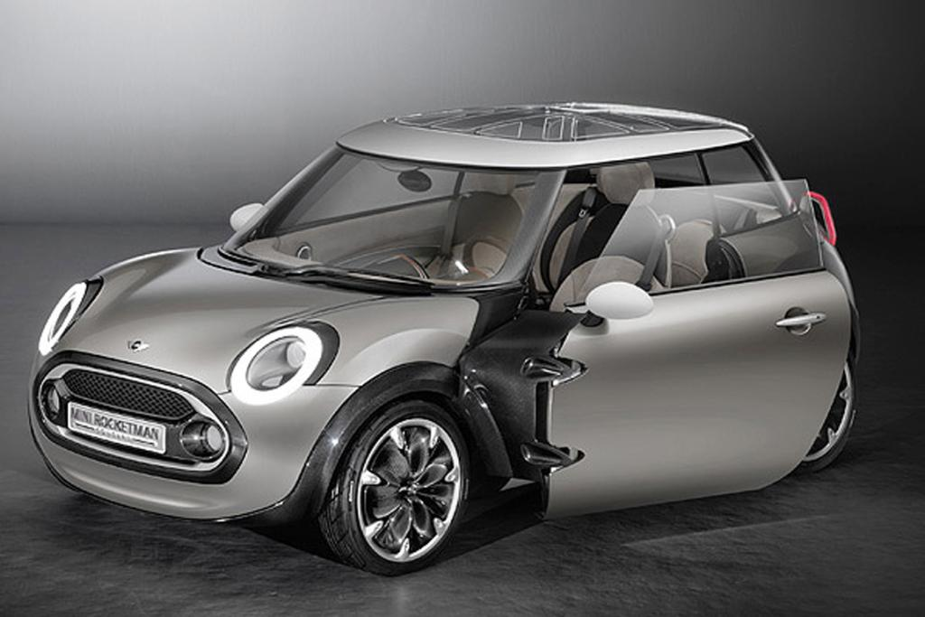 ROCKETMAN: Mini will unveil its smallest car of the 21st-century, the 'Rocketman' concept, at the 2011 Geneva motorshow.