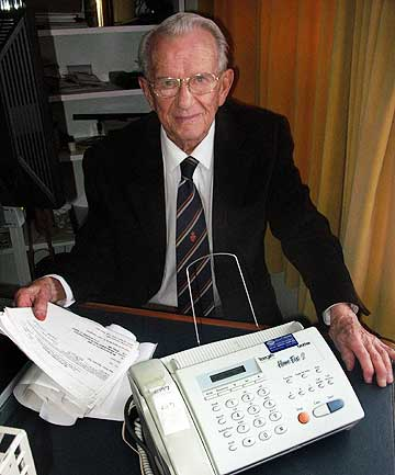 PRIVACY BREACH: John Ritchie's fax machine has been delivering confidential medical records for the past year, despite his best efforts to have them stopped.