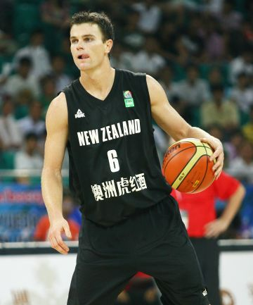 POINTS SCORER: Tall Blacks shooting guard Kirk Penney in action at the Stankovic Cup in Ghangzhou, China.