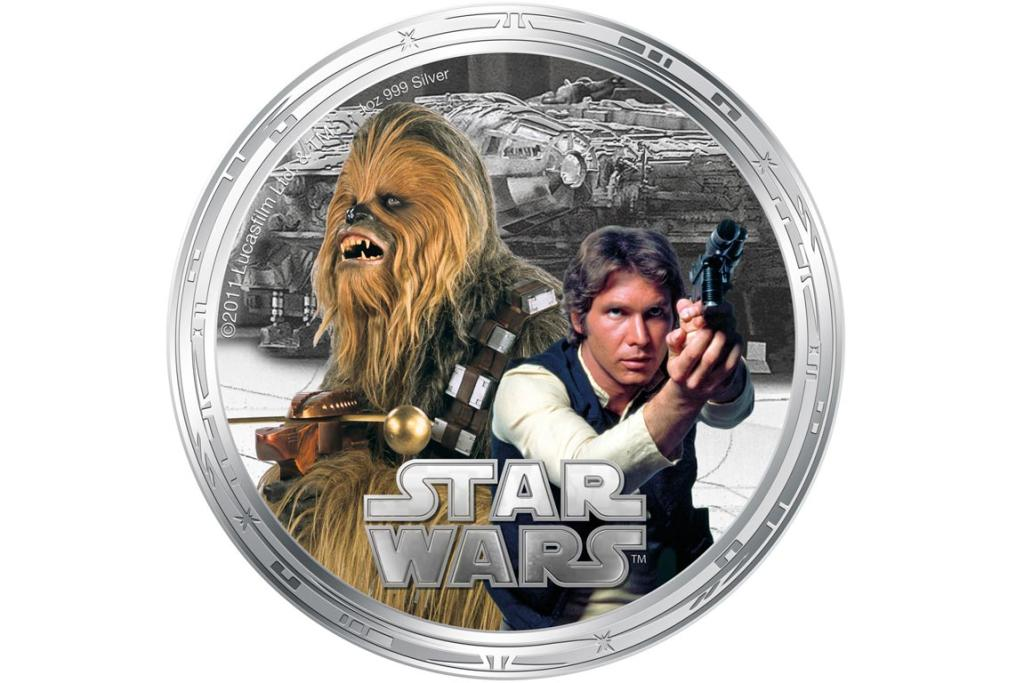 Han Solo and Chewbacca.