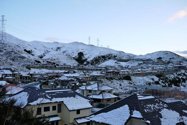 Snow, Churton Park