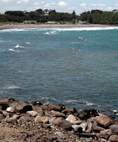 Surf's out. On Monday, the South Taranaki District Council conceded it was unlikely it would see a cent from the $400,000 it underwrote to the Opunake Artificial Surf Reef Trust and wiped the debt as unrecoverable.