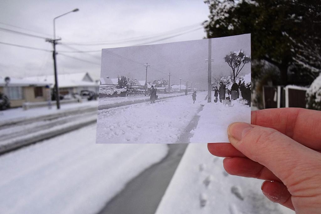Snow past and present