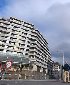 The Crowne Plaza will be demolished