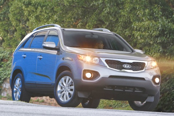 Kia Sorento: Now available with seven seats and a four-cylinder petrol engine.