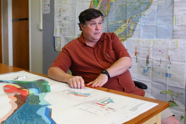 Geophysicist Professor Kevin Furlong who has studied the Christchurch September earthquake found himself caught up in the US quake drama.