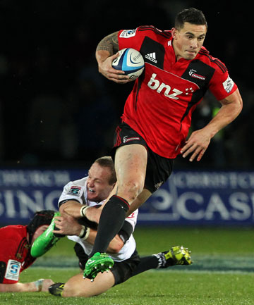 SUN SETTING ON SONNY?: A sponsorship standoff may result in Sonny Bill Williams leaving New Zealand rugby.