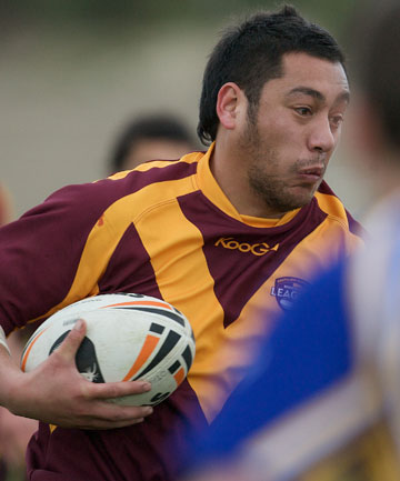 BRIGHT SPOT: Loose forward Nic Ah Kuoi was one of the best Southland Rams players.