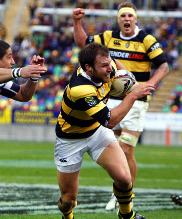 The Ranfurly Shield is in good hands for the next 10 months after Taranaki produced a mature and composed performance to see off Hawke's Bay 29-11.