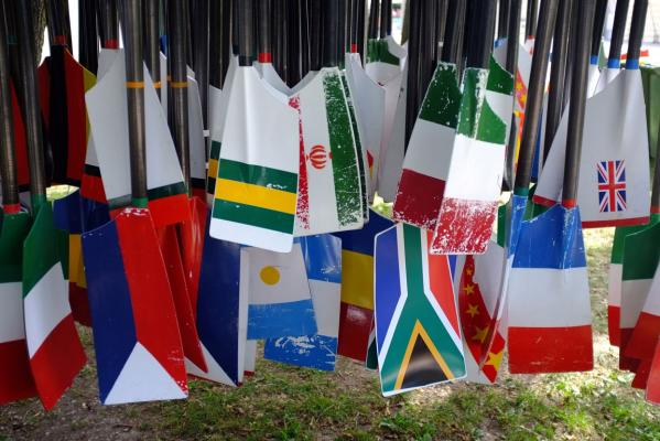 A phalanx of nations are in Slovenia to contest medals at the rowing world championships.