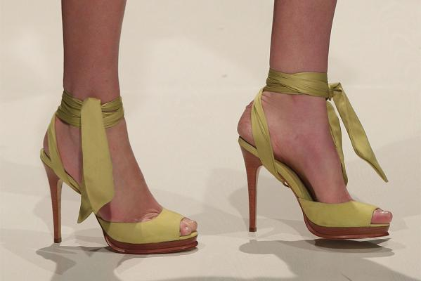 Shoes by Runway in the Shoe of the Week show.