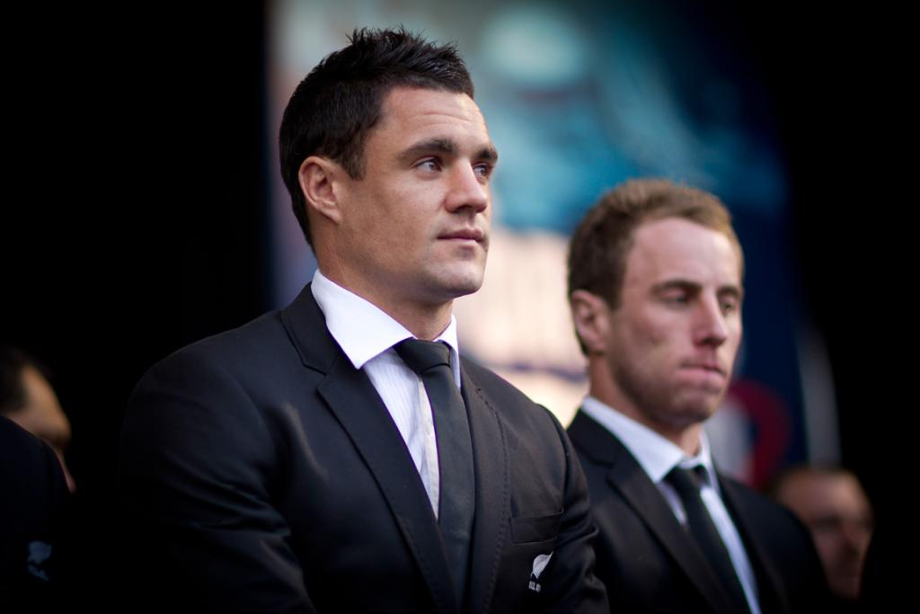 Welcome for the All Blacks