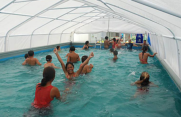 Portable Pools For Christchurch Schools