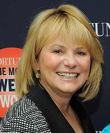 FIRED: Yahoo chief executive Carol Bartz
